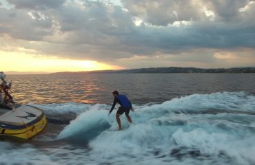 Learn to wakesurf