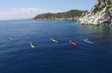 Sea kayaking expedition