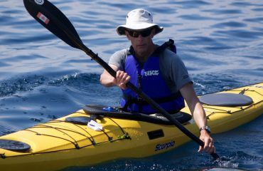 Sea Kayaker in the scorpio