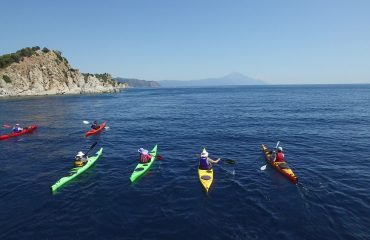 Sea Kayaking  Greece