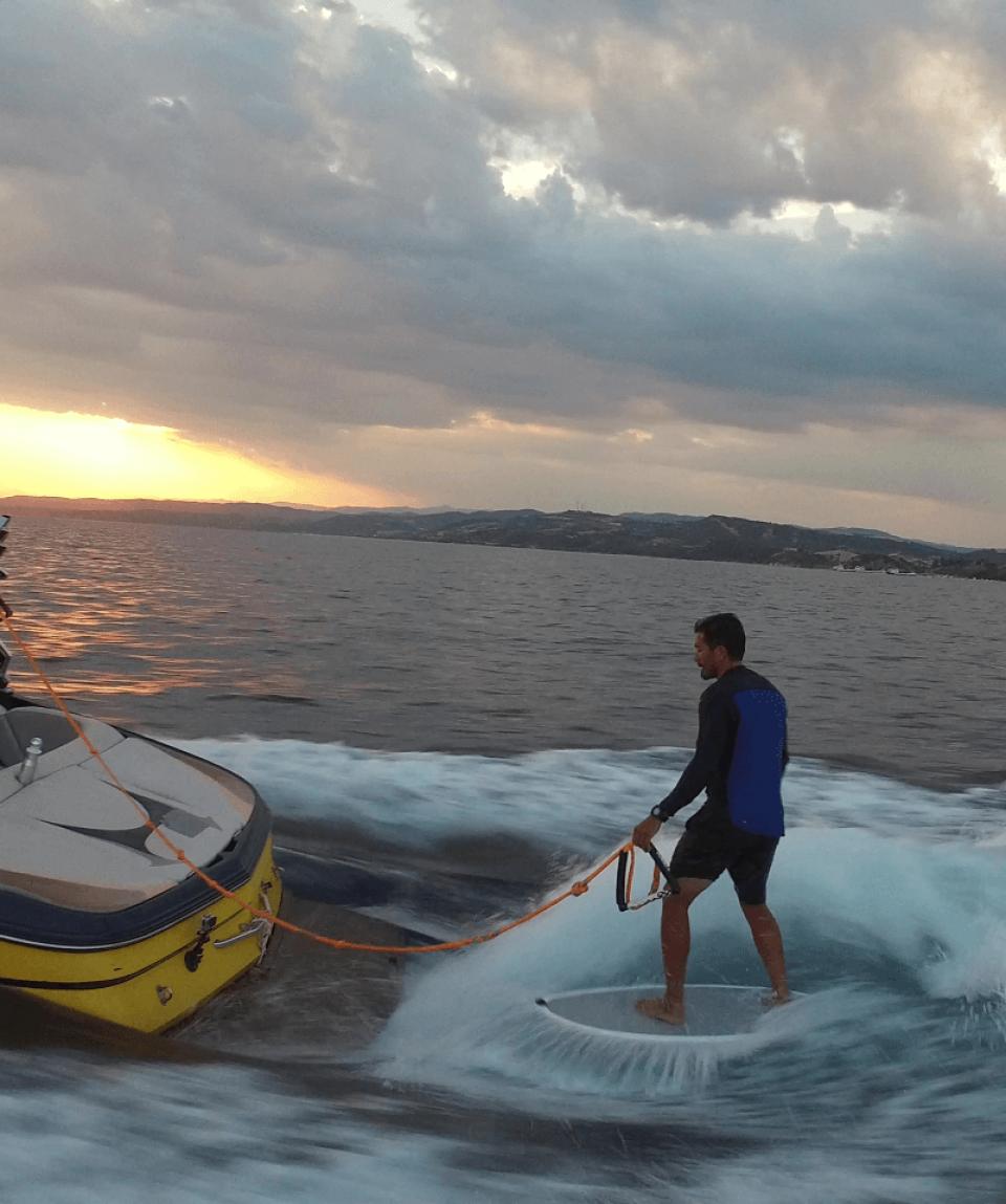 Wakesurfing Halkidiki