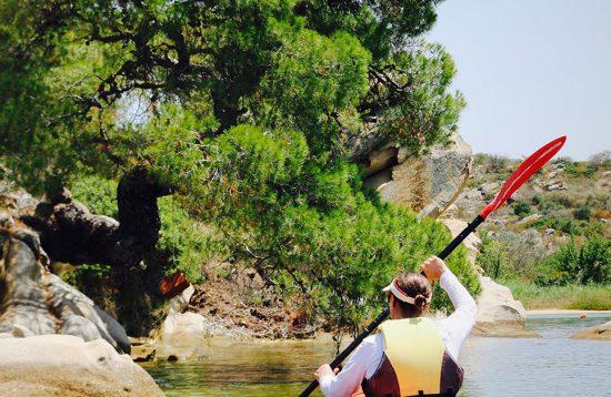 Sea Kayaking at Diaporos